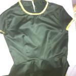 Dore Studlı Siyah Kloş elbise :)